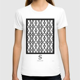 LETTERNS - S - Colonna MT T-shirt