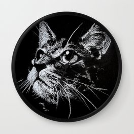 Cat Creta Wall Clock