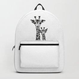 Giraffes by annmariescr Backpack
