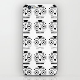 Candy skull iPhone Skin
