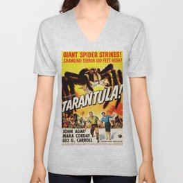 Tarantula, vintage horror movie poster Unisex V-Neck