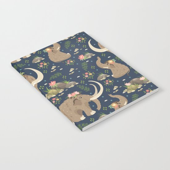 Cute mammoths Notebook