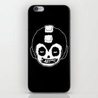 mega man iPhone & iPod Skins featuring MISFITS MEGA MAN SKULL by UNDEAD MISTER / MRCLV