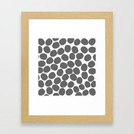 Humongous Dots Ahoy Framed Art Print