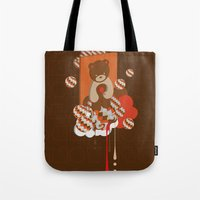 chocolate Tote Bags featuring chocolate by Disnois