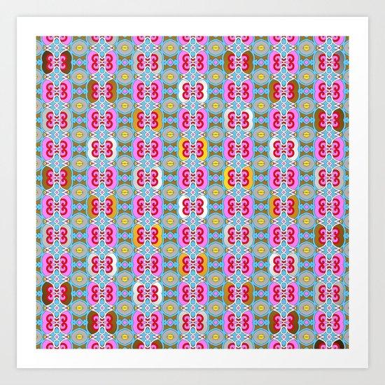Mix&Match  Spring Love 02 Art Print