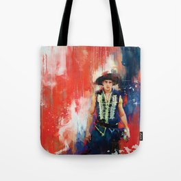 The Masked Bandit Tote Bag
