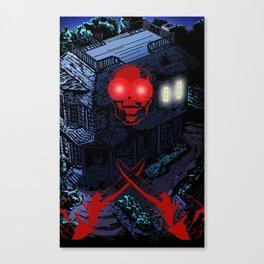 MURDERHOUSE Canvas Print
