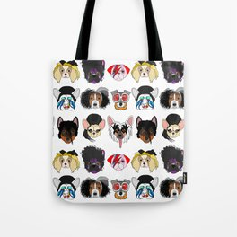 Pop Dogs Tote Bag