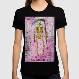 La Calavera Mexican Loteria Bingo Card T-shirt
