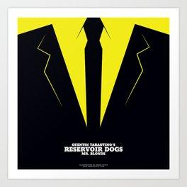 Reservoir Dogs Mr. Blonde Art Print