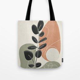 Minimal Abstract Shapes No.73 Tote Bag