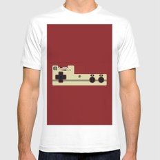 Share the Love: Player 2 MEDIUM Mens Fitted Tee White