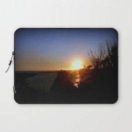 Dusk over Lakes Entrance Laptop Sleeve