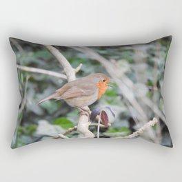 Singing Robin Rectangular Pillow