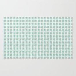 Blue Scribbles Pattern 02 Rug