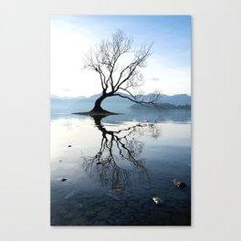 The Wanaka Tree, South Island, New Zealand Canvas Print