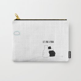 Let's Make a Panda Carry-All Pouch