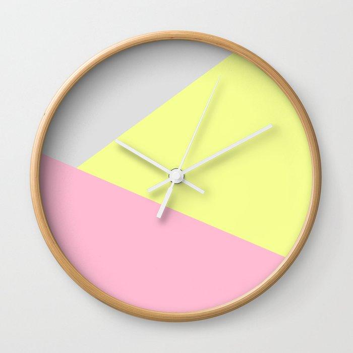 Neon Noir Wall Clock