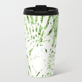 Palm Leaves Abstract II Travel Mug