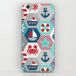 Nautical Baby iPhone Skin