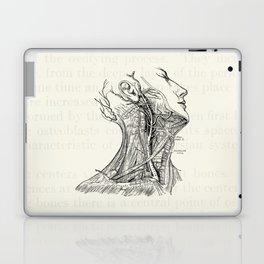 Arteries of the Neck Vintage Medical Illustration Laptop & iPad Skin