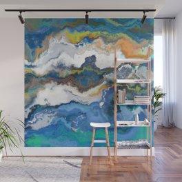 Foamy Marble Ocean Wall Mural