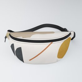 abstract minimal 6 Fanny Pack