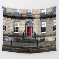 edinburgh Wall Tapestries featuring Building New Town Edinburgh by RMK Creative
