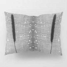 Delicate grasses - light and shadow #4 Pillow Sham