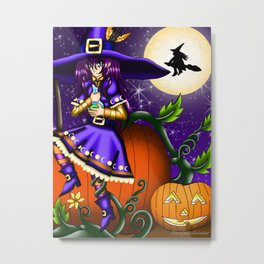 Halloween Artwork #3 (2017) Metal Print