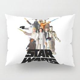 Star War Action Figures Poster Pillow Sham