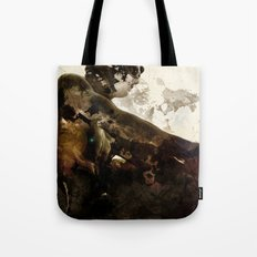 Black idol Tote Bag