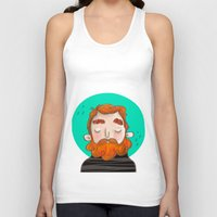 ginger Tank Tops featuring Ginger by caridibuja