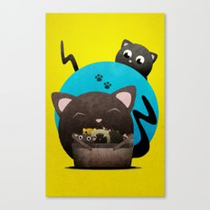Mommacat Canvas Print