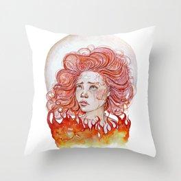 Et Je Revive Throw Pillow