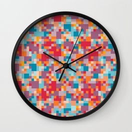Yep. Pixels! Wall Clock