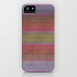 Woven Wonders Multi iPhone Case