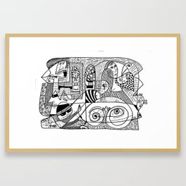 Sqoodle 2 Framed Art Print