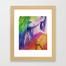 HernameisBanks Framed Art Print