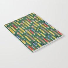Little Pencils Green Notebook