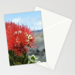 'Ohi'a lehua blossoms II Stationery Cards