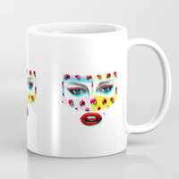 arabic Mugs featuring Arabic  by Peonies