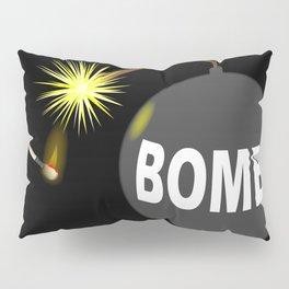 Bomb and Match Pillow Sham