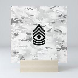 1st Sergeant (Winter Camo) Mini Art Print