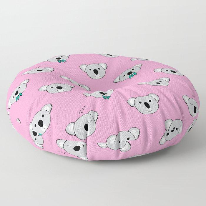 Koala Cuddles Floor Pillow