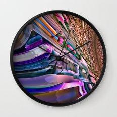 Future above Wall Clock