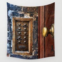 door bell Wall Tapestry