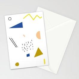 terrazzo confetti Stationery Cards
