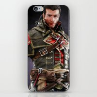 patrick iPhone & iPod Skins featuring Patrick Cormack by Tom Lee